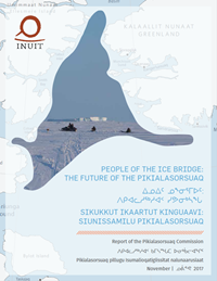 Pikialasorsuaq Commission report 2017 cover